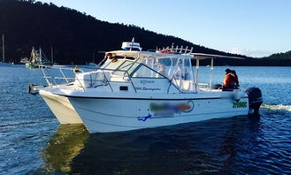 30' Fishing Charter In Mourilyan Harbour