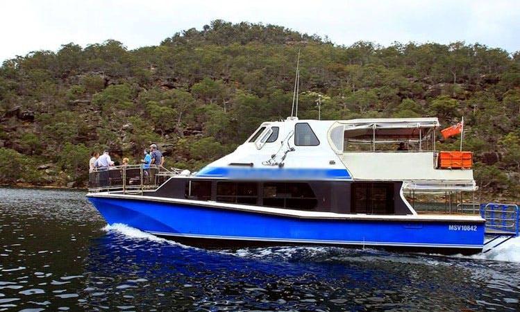 Pontoon Charter in Ku-Ring-Gai Chase, Australia