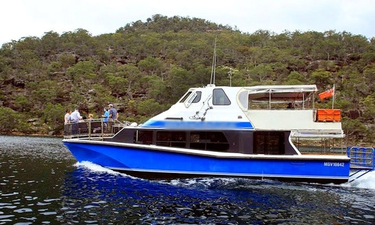 Pontoon Charter In Ku-ring-gai Chase, Australia