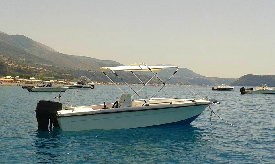 Rent an Amazing 6 Person Center Console in Praia A Mare, Italy