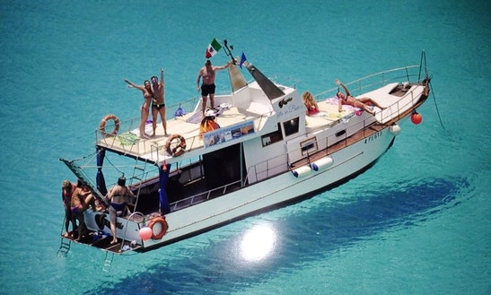 Charter A Motor Yacht In Sciacca, Sicilia, Italy