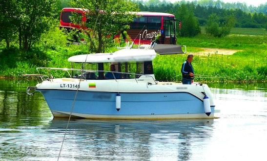 Charter Luk Neli Motor Yacht In Klaipėdos, Lithuania