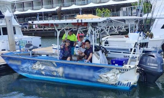 Enjoy Fishing In Cairns, Australia On Center Console