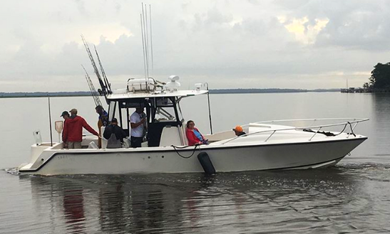21ft center console boat charter in hilton head island for Savannah fishing charters