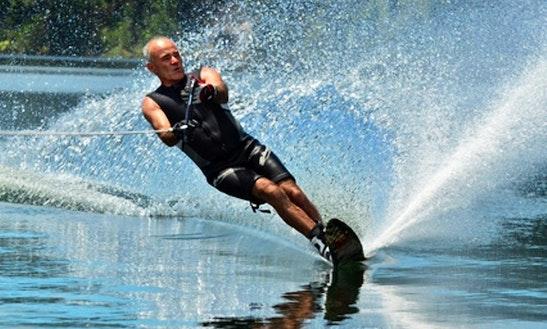 Enjoy Water Skiing In Potsdam, Germany