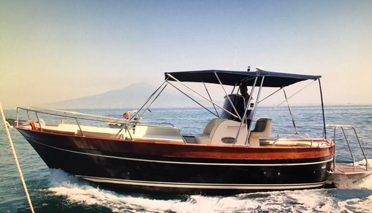 Charter 8 Person Motor Yacht In Vico Equense, Italy