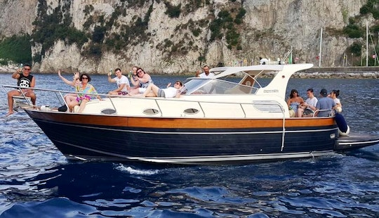 Explore Vico Equense On 12 Person Motor Yacht