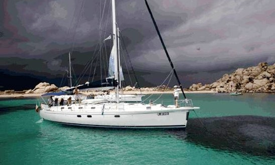 Charter A Wonderful 10 Person Sailboat In Palau, Italy