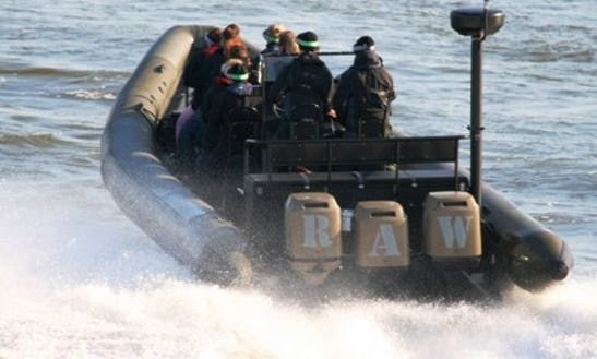 Charter Raw C-1100 Rigid Inflatable Boat In Helsingfors, Finland