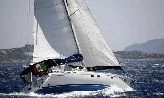 Beautiful Sailing Yacht Charter for 8 People Available Weekly in Palau OT, Italy