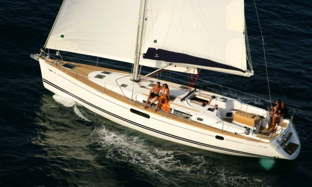 Jeanneau 49i Performance Charter from Ancona and Venice