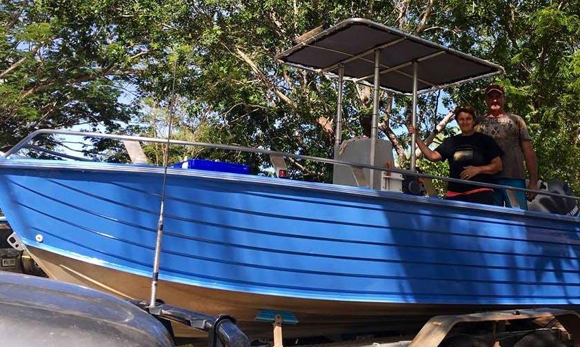 Fun Fishing Charters with Captain in Borroloola, Australia