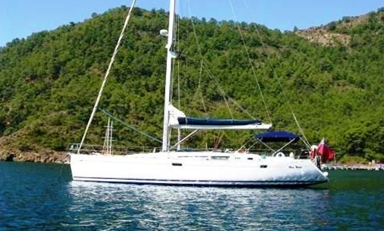 Charter 49' Jeanneau Sun Odyssey Cruising Monohull In Sporades And Chalkidiki, Greece
