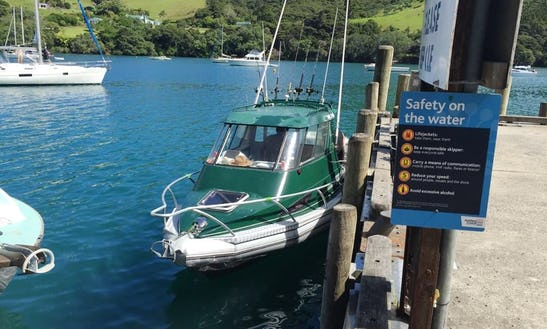 Enjoy Fishing In Warkworth, Auckland On 28' Predator Cuddy Cabin