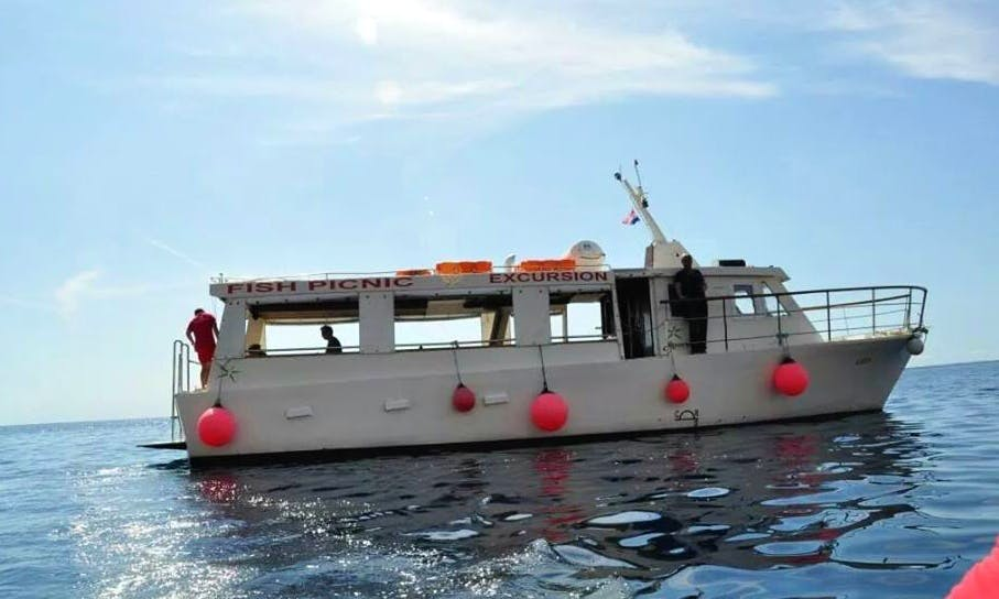 Fish Picnic Boat Excursion in Komiža, Croatia