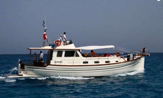 Charter 52' Menorquin 160 Power Mega Yacht In Castiadas, Sardegna