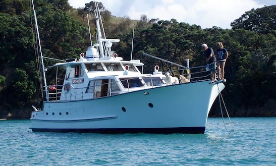 Enjoy Fishing In Auckland, New Zealand With Captain James
