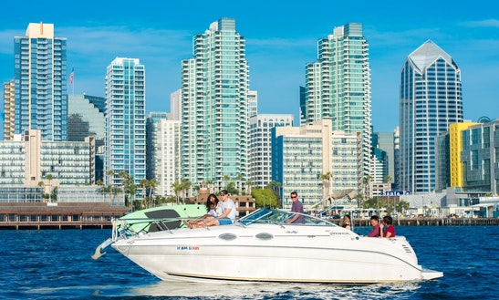 28' Sea Ray Sundancer Bowrider Rental In San Diego Bay, California