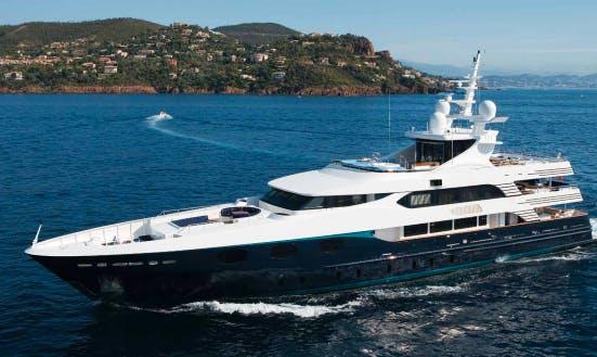 Charter 167' Alibi Power Mega Yacht In Napoli, Italy