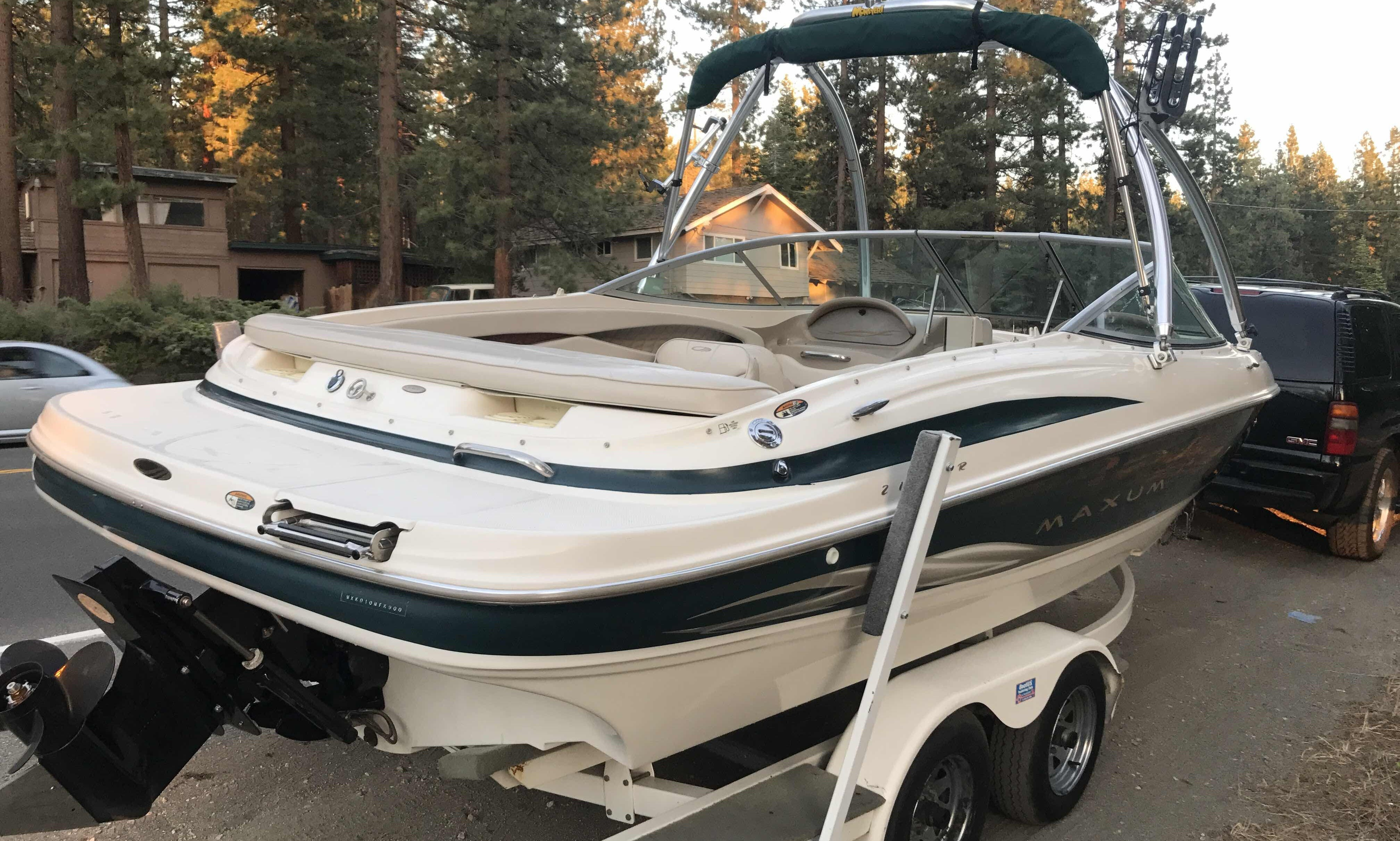 Bowrider for rent in Zephyr Cove