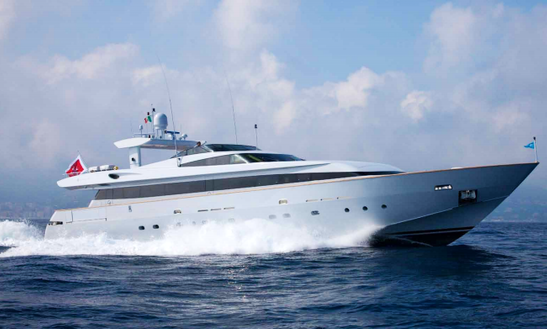 Charter 111' Space Power Mega Yacht In Napoli, Italy