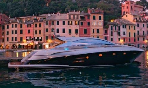 58ft Sogica Power Mega Yacht Rental In Napoli, Italy