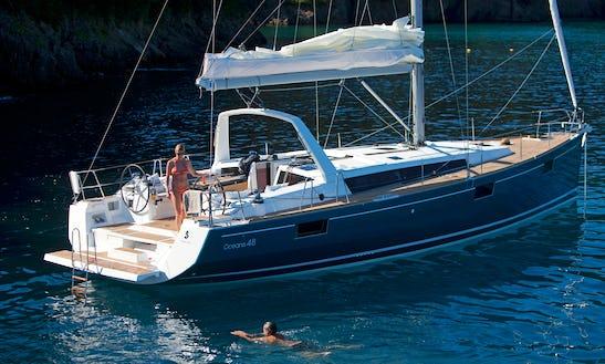Discover Zagreba, Croatia Aboard Oceanis 48 Sailboat