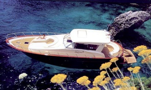 Charter 59' Apreamare Power Mega Yacht In Napoli, Italy