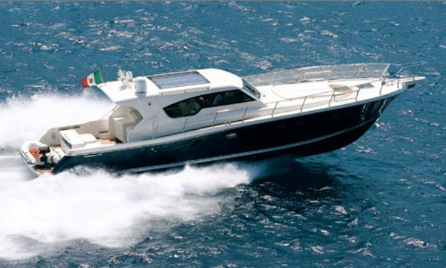 54' Gagliotta Power Mega Yacht Rental In Napoli, Italy