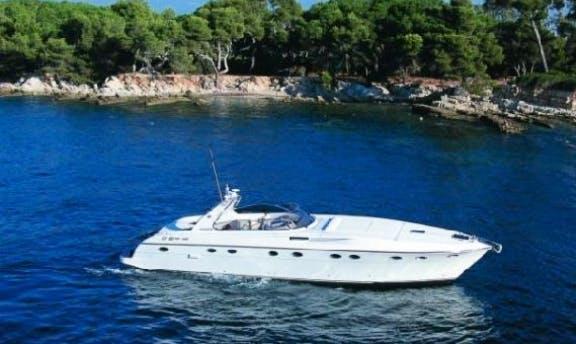 Charter 53' Rizzardi Power Mega Yacht In Napoli, Italy