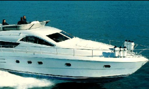 52' Maestrale Power Mega Yacht Rental In Napoli, Italy