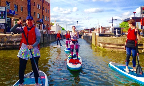 Enjoy Stand Up Paddleboarding In Gloucester, England