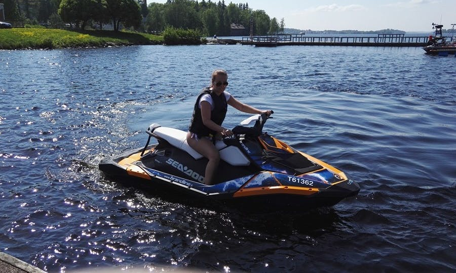 Absolutely Thrilling Jet Ski Experience in Tampere, Finland