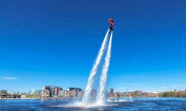 Enjoy Flyboarding in Tampere, Finland