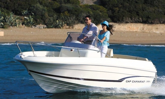Rent Cap Camarat Center Console In Menton, France