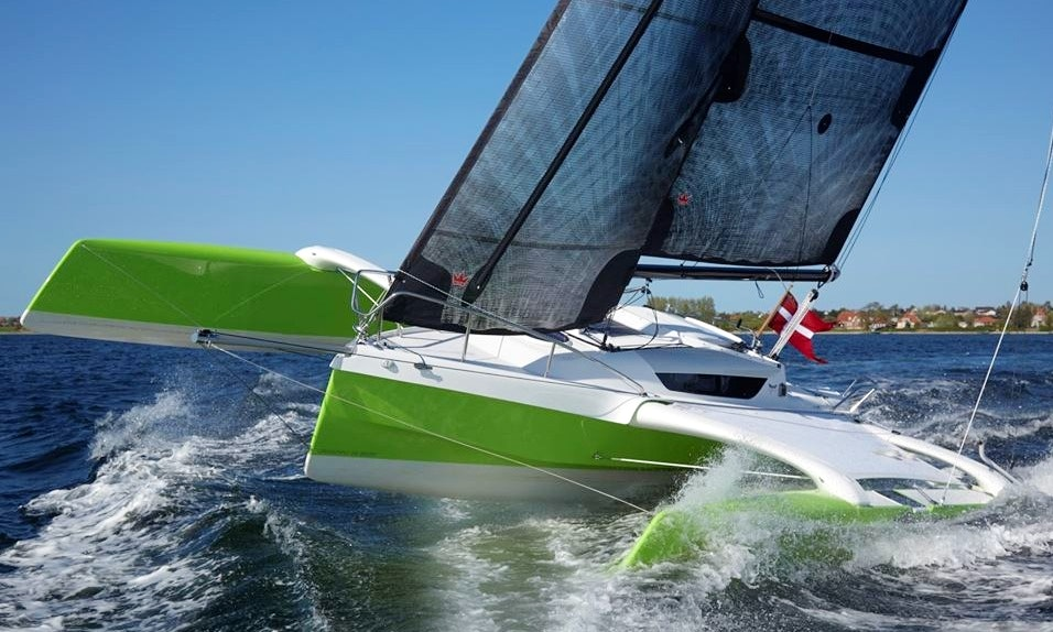 Charter 28' Dragonfly 28 Trimaran in Stockholm, Sweden | GetMyBoat