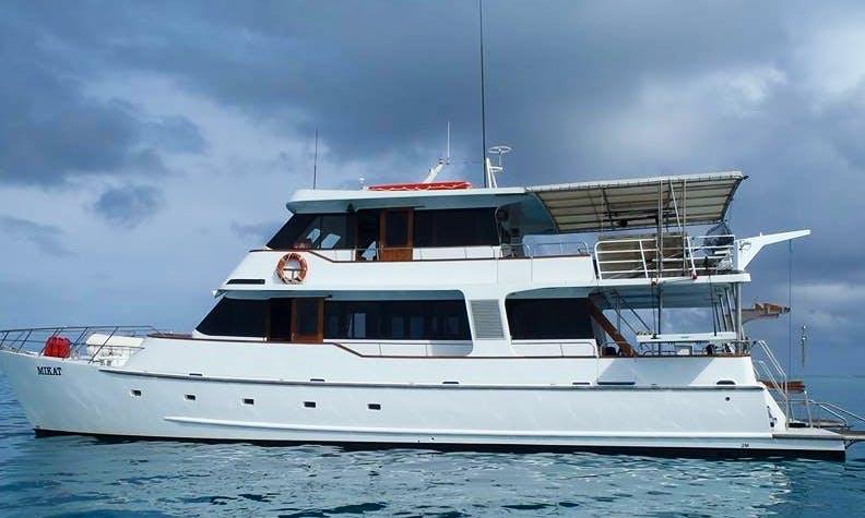 Charter 65' MV Mikat Power Catamaran in Queensland, Australia