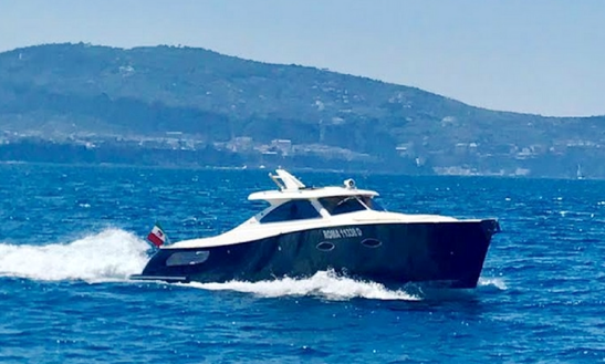 Charter 34' Gagliotta Motor Yacht In Vico Equense, Italy