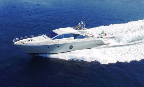 Charter Aicon 72 Motor Yacht In Vico Equense, Italy
