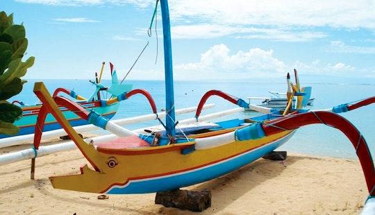 Enjoy Fishing In Denpasar Selatan, Indonesia On Traditional Boat
