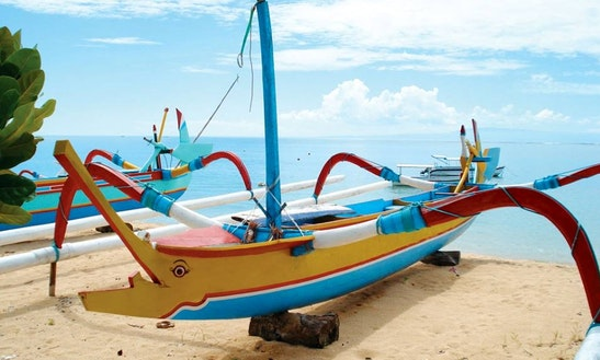 Enjoy Fishing In Denpasar Selatan, Indonesia On Traditional Boat