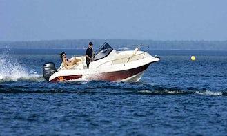 Rent 21' Atlantic Bowrider in Poreč, Croatia