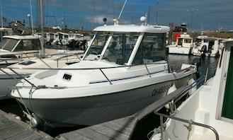 Motor Yacht rental in Grandcamp-Maisy