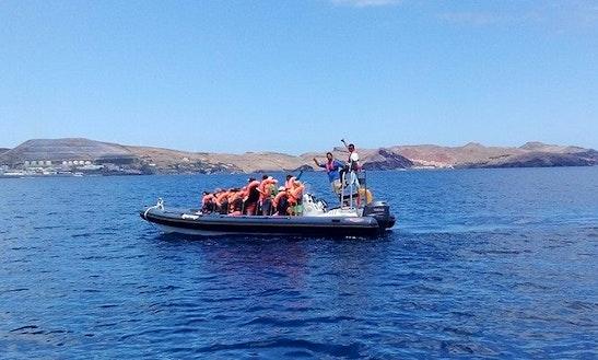 Charter Lorenco Rigid Inflatable Boat In Caniço, Santa Cruz, Portugal