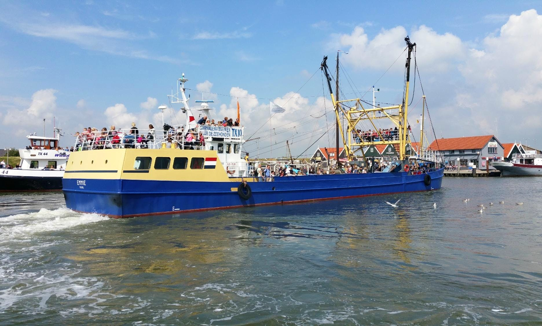 Enjoy Fishing Trips in Oudeschild, Noord-Holland On De Zeester Trawler