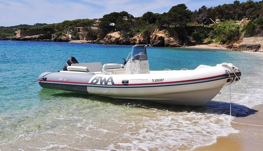 Rent 22' Bwa Rigid Inflatable Boat In Hyères, France