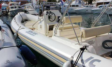 Rent 23' Clubman Rigid Inflatable Boat in Hyères, France