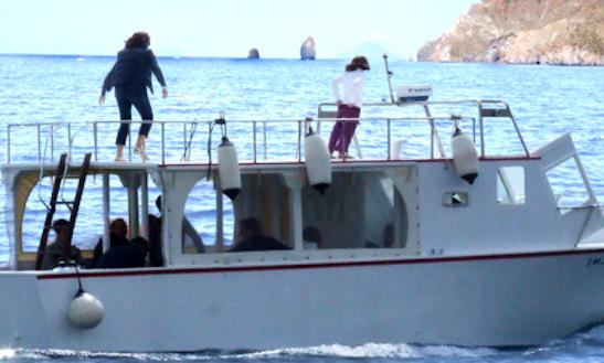 Charter 39' Sbocciata Motor Yacht In Lipari, Sicilia