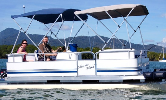 Absolutely Spacious 8 Person Pontoon In Queensland, Australia!
