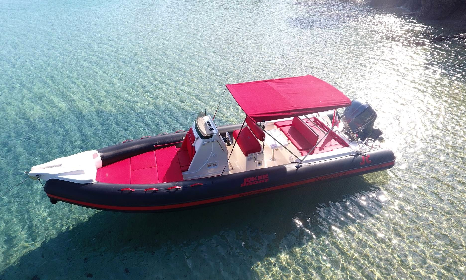 Hire a Georgeous 14 People Joker Boat in Hyères, France!
